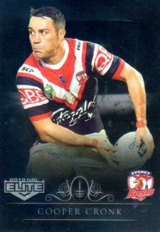 2018 NRL Elite Special Silver Parallel SS133 Cooper Cronk Roosters