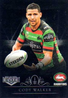 2018 NRL Elite Special Silver Parallel SS120 Cody Walker Rabbitohs