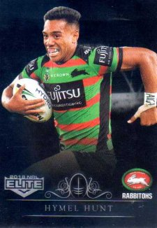 2018 NRL Elite Special Silver Parallel SS115 Hymel Hunt Rabbitohs