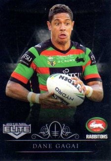 2018 NRL Elite Special Silver Parallel SS114 Dane Gagai Rabbitohs