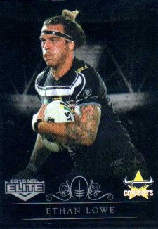 2018 NRL Elite Special Silver Parallel SS86 Ethan Lowe Cowboys