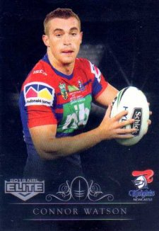 2018 NRL Elite Special Silver Parallel SS80 Connor Watson Knights