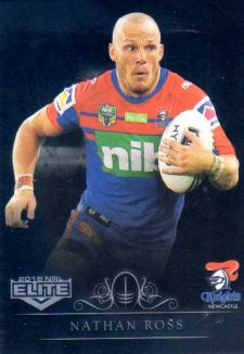 2018 NRL Elite Special Silver Parallel SS79 Nathan Ross Knights
