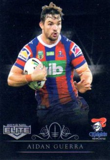 2018 NRL Elite Special Silver Parallel SS74 Aidean Guerra Knights