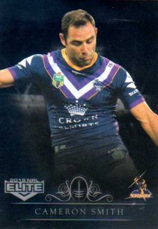2018 NRL Elite Special Silver Parallel SS70 Cameron Smith Storm