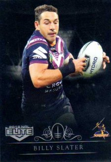 2018 NRL Elite Special Silver Parallel SS69 Billy Slater Storm