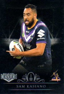 2018 NRL Elite Special Silver Parallel SS66 Sam Kasiano Storm