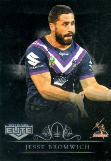 2018 NRL Elite Special Silver Parallel SS63 Jesse Bromwich Storm