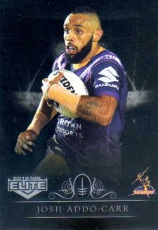 2018 NRL Elite Special Silver Parallel SS62 Josh Addo-Carr Storm