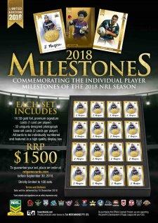 2018 NRL Milestones
