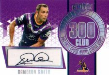 2018 NRL Elite 300 Club Case Card Signature CCS2 Cameron Smith Storm