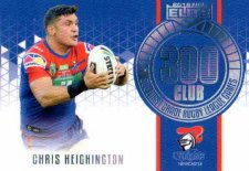 2018 NRL Elite 300 Club Case Card CC4 Chris Heighington Knights