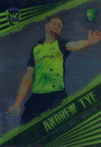 2018/19 Cricket Parallel Card 55 Andrew Tye Australian T20 Team