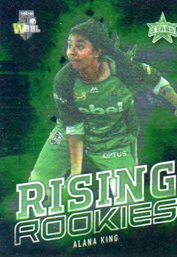 2018/19 Cricket WBBL Rising Rookies RR13 Alana King Stars