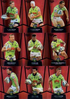 2015 NRL Elite Mojo Ruby Canberra Raiders