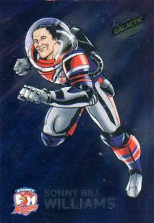 2014 NRL Traders Galactic Stars GS16 Sonny Bill Williams Roosters