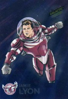 2014 NRL Traders Galactic Stars GS7 Jamie Lyon Sea Eagles