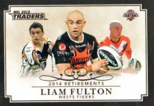 2015 NRL Traders Retirements R3 Liam Fulton Tigers