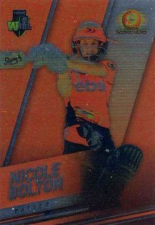 2018/19 Cricket Parallel Card 158 Nicole Bolton Scorchers