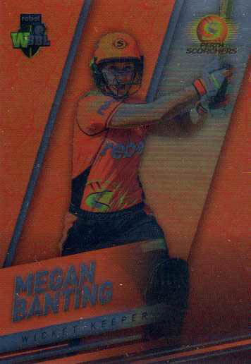 2018/19 Cricket Parallel Card 157 Megan Banting Scorchers
