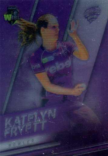2018/19 Cricket Parallel Card 106 Katelyn Fryett Hurricanes