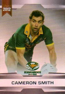 2012 NRL Limited Edition Parallel P8 Cameron Smith Storm Australia