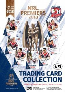 2018 NRL Premiers Sydney Roosters LIMITED Signature Premiership Set
