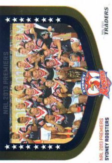 2014 NRL Traders Season to Remember #SR2013/44 Sydney Roosters