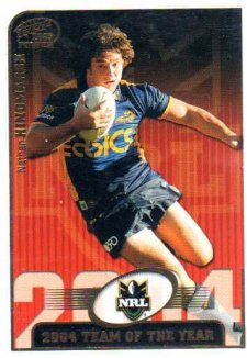 2005 NRL Power Team of the Year TY7 Nathan Hindmarsh Eels