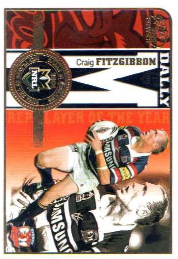 2005 NRL Power Honour Roll HR3 Craig Fitzgibbon Roosters
