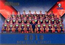 2018 NRL Traders Redeemed Predictor Team Photo PT8 Knights