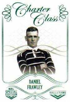 2018 NRL Glory Hall of Fame Charter Class CC7 Daniel Frawley