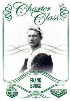 2018 NRL Glory Hall of Fame Charter Class CC12 Frank Burge