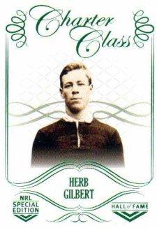 2018 NRL Glory Hall of Fame Charter Class CC14 Herb Gilbert