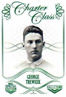 2018 NRL Glory Hall of Fame Charter Class CC27 George Treweek