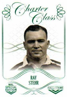 2018 NRL Glory Hall of Fame Charter Class CC30 Ray Stehr