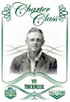 2018 NRL Glory Hall of Fame Charter Class CC34 Viv Thicknesse