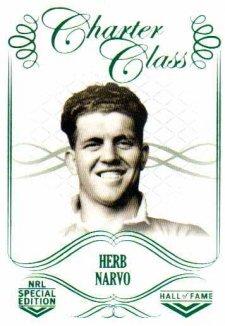 2018 NRL Glory Hall of Fame Charter Class CC38 Herb Narvo