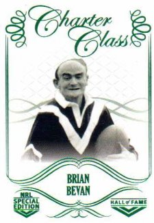 2018 NRL Glory Hall of Fame Charter Class CC39 Brian Bevan