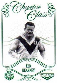 2018 NRL Glory Hall of Fame Charter Class CC46 Ken Kearney