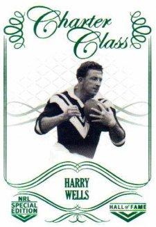 2018 NRL Glory Hall of Fame Charter Class CC49 Harry Wells