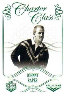 2018 NRL Glory Hall of Fame Charter Class CC57 Johnny Raper