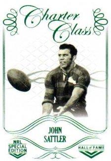 2018 NRL Glory Hall of Fame Charter Class CC69 John Sattler