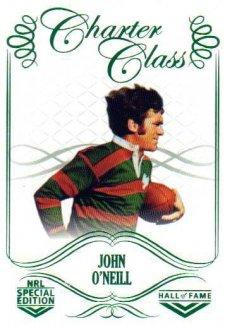 2018 NRL Glory Hall of Fame Charter Class CC73 John O'Neill