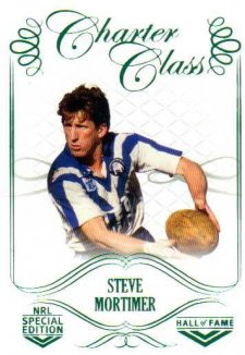 2018 NRL Glory Hall of Fame Charter Class CC78 Steve Mortimer