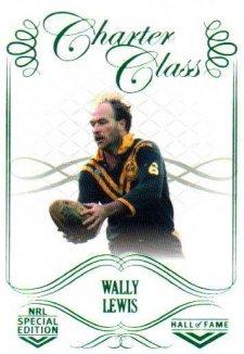 2018 NRL Glory Hall of Fame Charter Class CC82 Wally Lewis