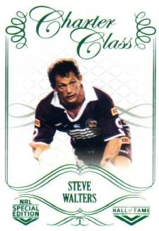 2018 NRL Glory Hall of Fame Charter Class CC91 Steve Walters