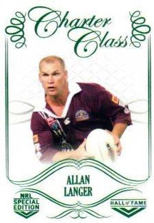 2018 NRL Glory Hall of Fame Charter Class CC92 Allan Langer