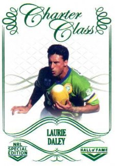 2018 NRL Glory Hall of Fame Charter Class CC93 Laurie Daley