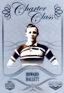 2018 NRL Glory Hall of Fame Charter Class Chrome CCC8 Howard Hallett